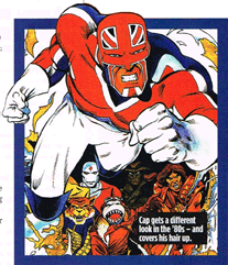 Captain Britain by David Thorpe and Alan Davies