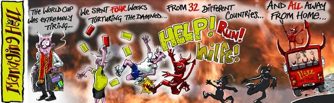 Managing Hell cartoon 14: 26.06.2006