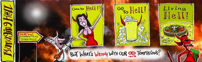 Managing Hell cartoon 15: 03.07.2006