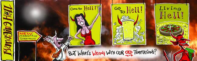 Managing Hell cartoon 15: 03.07.2006