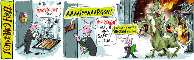Managing Hell cartoon 2 14/1/2006