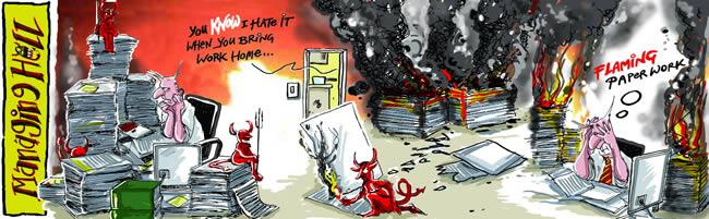 Managing Hell cartoon 7: 27.03.2006