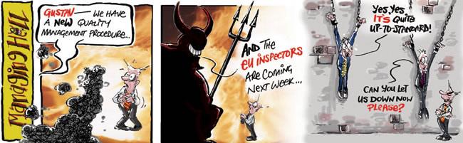 Managing Hell cartoon 8: 10.04.2006
